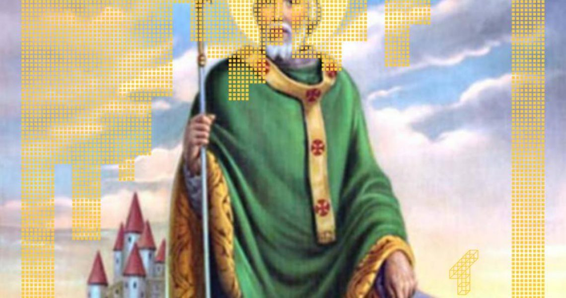 tiedeviestintä, tutkitusti, tiedejulkaiseminen, pyhä patrick, pyhimys, irlanti, keskiaika, katolilaisuus